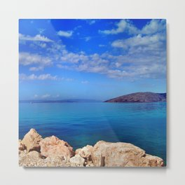 Island of Krk in Croatia Metal Print