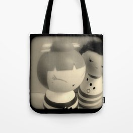 Sweet on Stripes Tote Bag