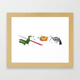 Listen to the Whale Framed Art Print