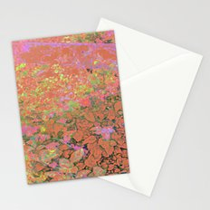 Flower/Fence 2 Stationery Cards