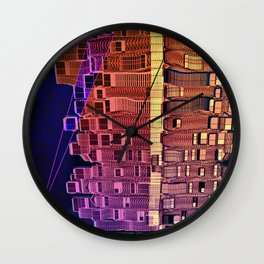 Atlante 05-06-16 / INTERESTELLAR CAPSULE Wall Clock