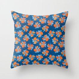 Tasteful Tulips Throw Pillow