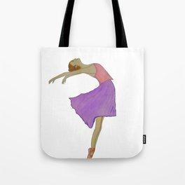 Gentle ballet dancer Tote Bag