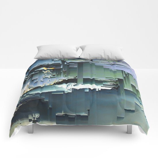 soft distortion Comforters
