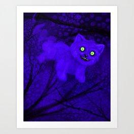 CheshireCaT Art Print