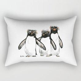Macaroni Penguin Gang Rectangular Pillow
