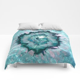 Teal Agate Comforters