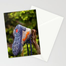 The lonely and lost shoe Stationery Cards