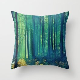 Eyes On The Forest, Not On The Trees. Throw Pillow
