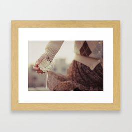 autumnal tints Framed Art Print