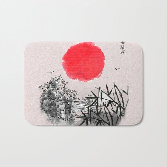 Japanese Landscape Bath Mat