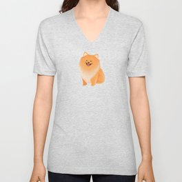 A Pomeranian Makes A House A Home Unisex V-Neck