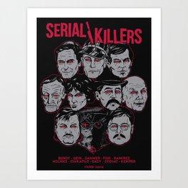 Möribundo Clothing - Serial Killers Art Print