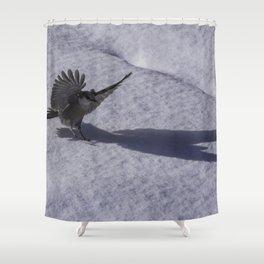 Thunderbird Shadow Shower Curtain