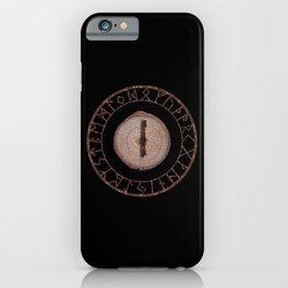 Isa - Elder Futhark rune iPhone Case