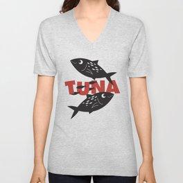 Tuna Unisex V-Neck