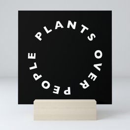 Plants Over People Mini Art Print