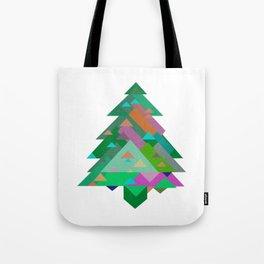 Xmas Digital ChristmasTree Tote Bag