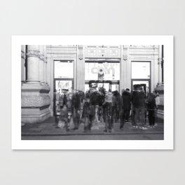 La Vasca - Ex mercato coperto, Reggio Emilia Canvas Print