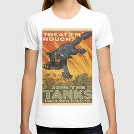 Vintage poster - Join the Tanks T-shirt