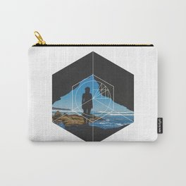 Paradise Cove Girl - Geometric Photography Carry-All Pouch