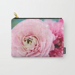 Carte Postale Ranunculus Carry-All Pouch