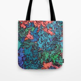 Oceanic Savannah Tote Bag