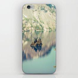 Crater Lake Oregon Phantom Ship Island iPhone Skin