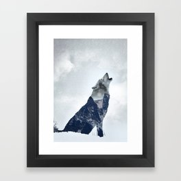 Wolf. Into the Wilderness Framed Art Print