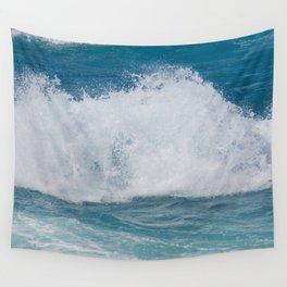 Hookipa Splash Waves Beach Break Shore Break Pacific Ocean Maui Hawaii Wall Tapestry