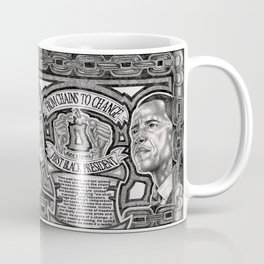 From Chains to Change Poetry by Bakari McClendon Coffee Mug