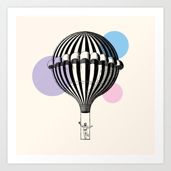 Big Balloon Art Print