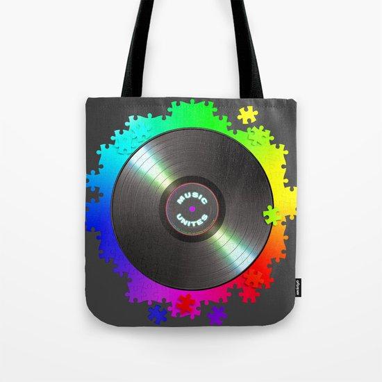 music_unites ! Tote Bag