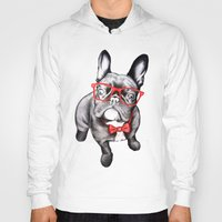 dog Hoodies featuring Happy Dog by 13 Styx