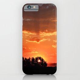 Idaho Sunset iPhone Case