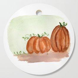Fall Pumpkins Cutting Board