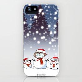 Snowman Christmas iPhone Case