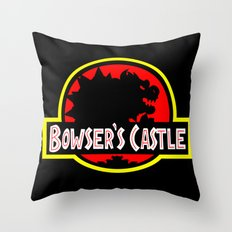 Bowser's Castle Throw Pillow