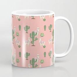 Alpaca with Cacti Coffee Mug