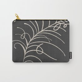 loopy feather Carry-All Pouch