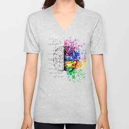 Conjoined Dichotomy Unisex V-Neck