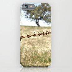 Tree Behind Fence iPhone 6s Slim Case