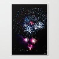 Happy New Years 2011 Canvas Print