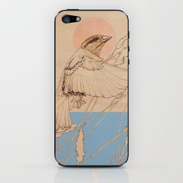 Myshkin Sparrow iPhone Skin