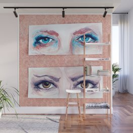 Seeing Double Wall Mural