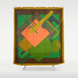 Geometric illustration 15 Shower Curtain