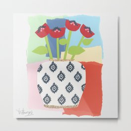 Flowers for Elia Metal Print