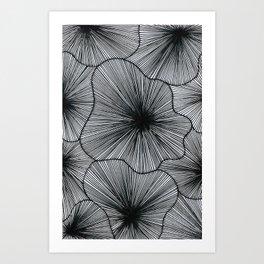Geometric spaces Art Print