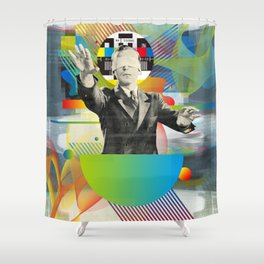 Television Art N°2 Shower Curtain
