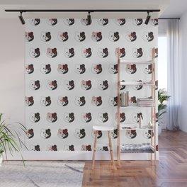 Monokuma Mood (White) Wall Mural